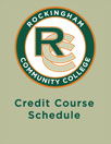 Credit Course Schedules