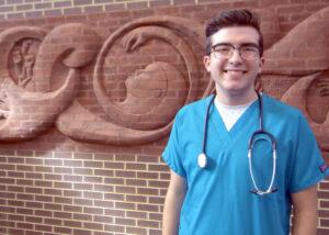 Student Chase Coggins