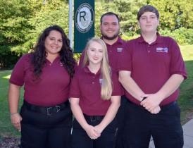 photo of 4 paramedic students